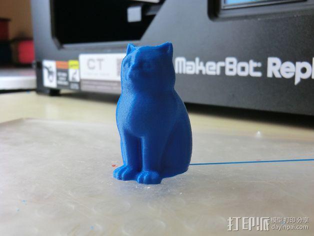 小猫 层厚填充测试 3D模型  图14