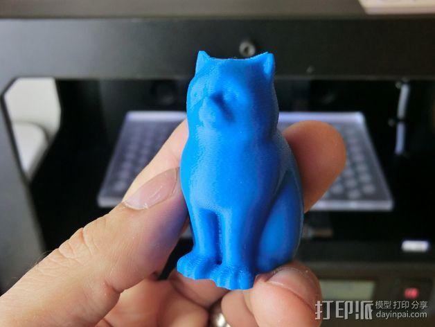 小猫 层厚填充测试 3D模型  图15