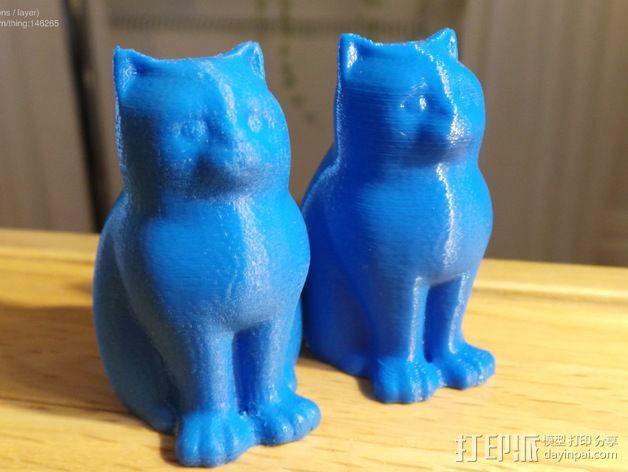 小猫 层厚填充测试 3D模型  图13