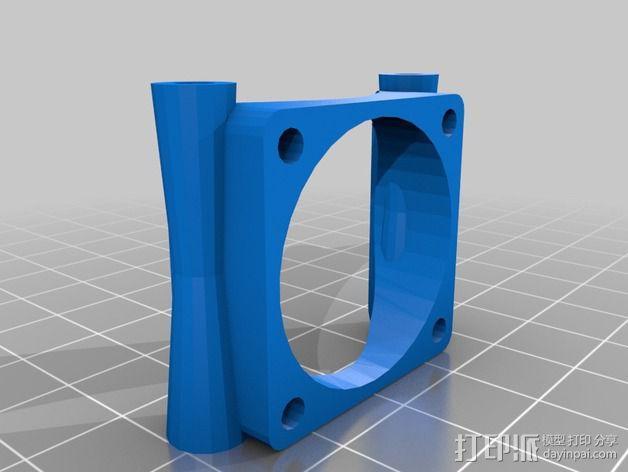 喷嘴支架 3D模型  图2