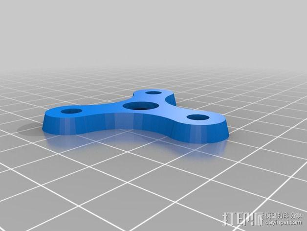 喷嘴支架 3D模型  图3
