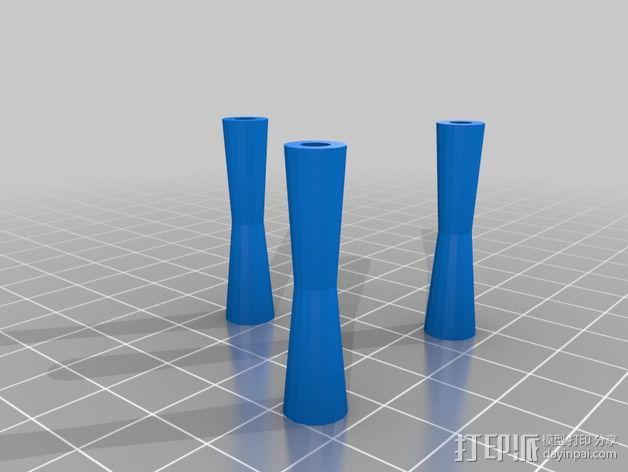 喷嘴支架 3D模型  图5