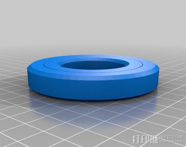 密封式滚珠轴承  3D模型  图2