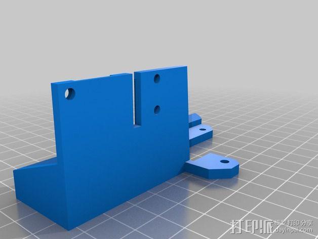 锚链 风扇支架 限位开关 3D模型  图4