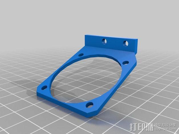 锚链 风扇支架 限位开关 3D模型  图6