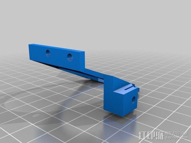 锚链 风扇支架 限位开关 3D模型  图7
