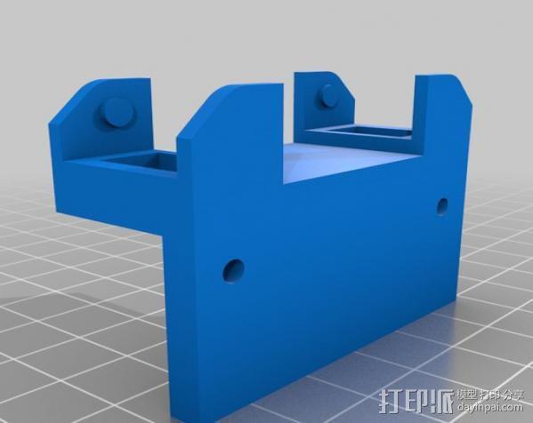 锚链 风扇支架 限位开关 3D模型  图9