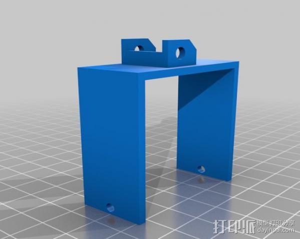锚链 风扇支架 限位开关 3D模型  图10
