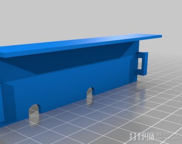 锚链 风扇支架 限位开关 3D模型  图11