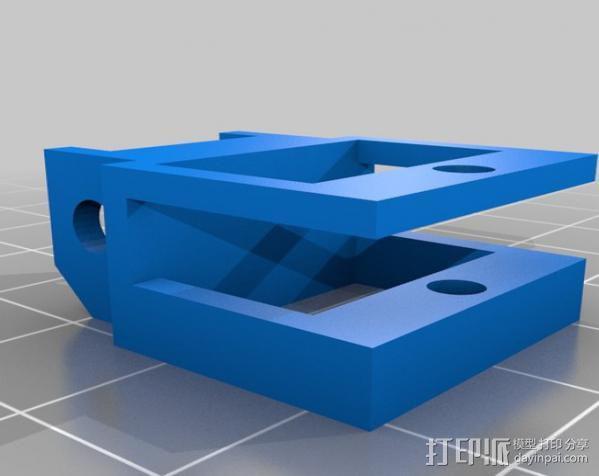 锚链 风扇支架 限位开关 3D模型  图13