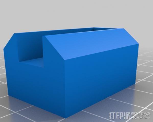 锚链 风扇支架 限位开关 3D模型  图14