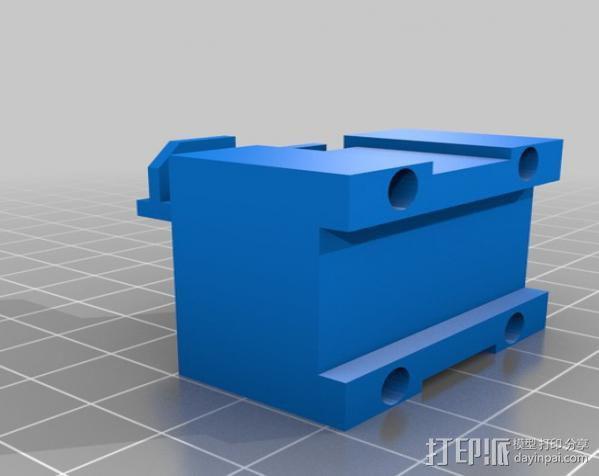 锚链 风扇支架 限位开关 3D模型  图16