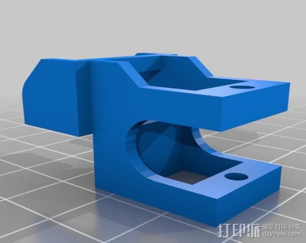 锚链 风扇支架 限位开关 3D模型  图15