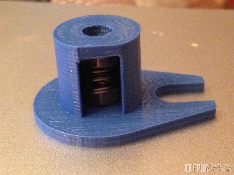 Z轴防震器 3D模型  图1