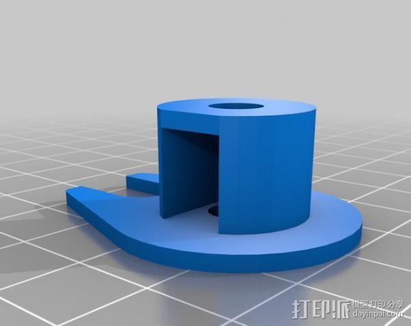 Z轴防震器 3D模型  图2