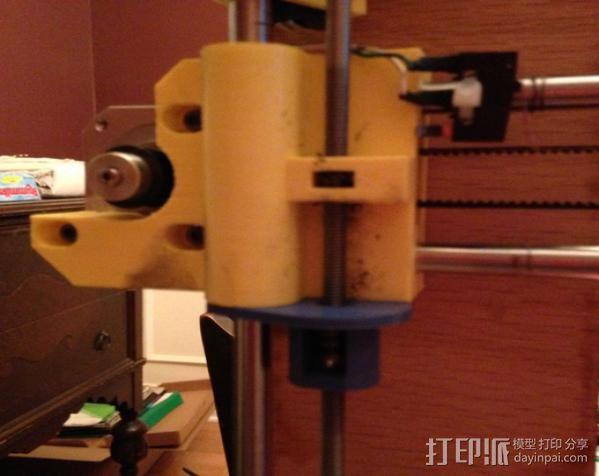 Z轴防震器 3D模型  图4