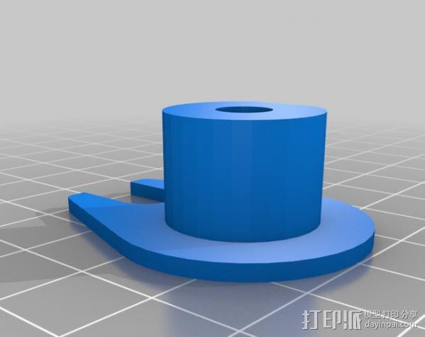 Z轴防震器 3D模型  图3