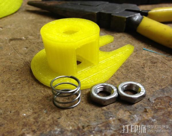 Z轴防震器 3D模型  图7