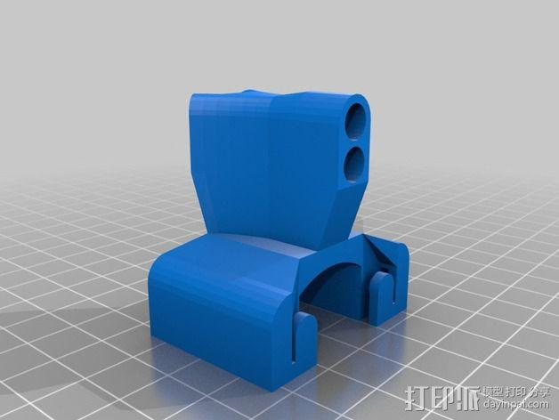 导线器 线材导轨 线材固定器 3D模型  图2