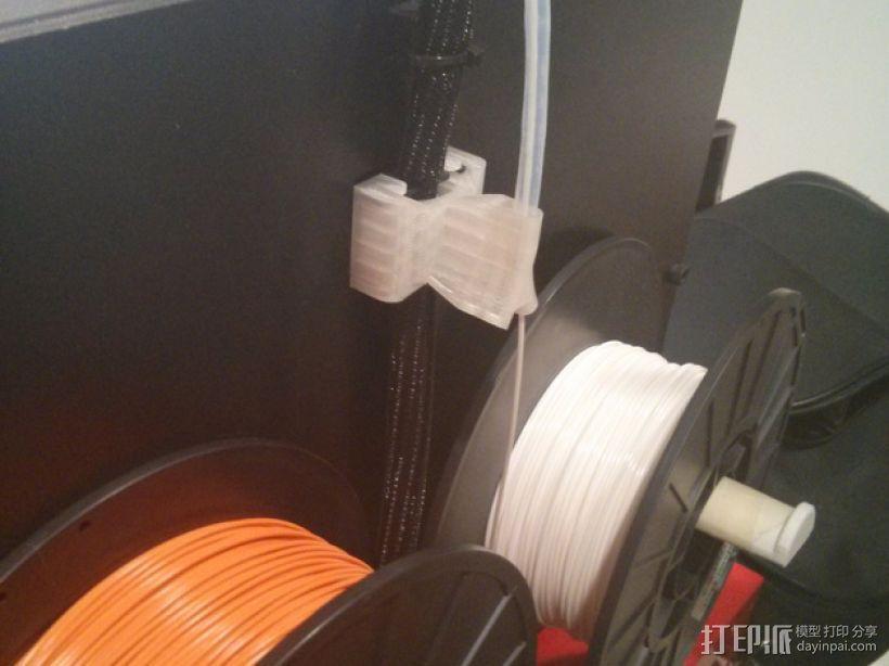 导线器 线材导轨 线材固定器 3D模型  图1