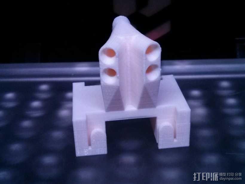 导线器 线材导轨 线材固定器 3D模型  图5