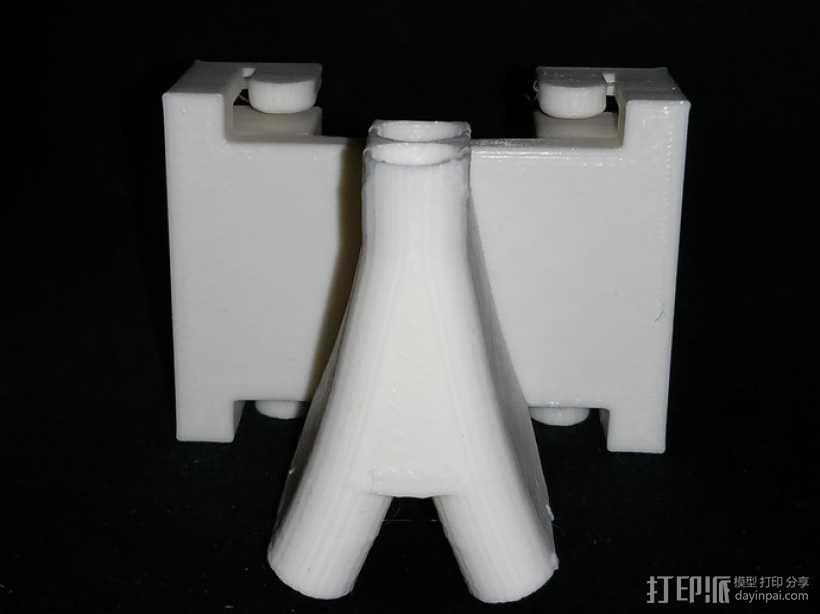 导线器 线材导轨 线材固定器 3D模型  图4
