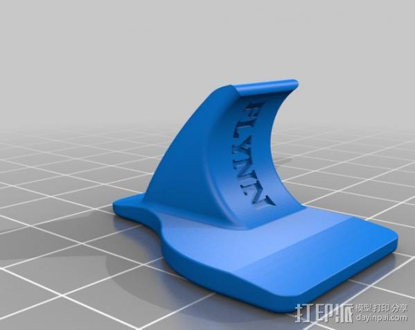 刀片架 刀片适配工具 3D模型  图3