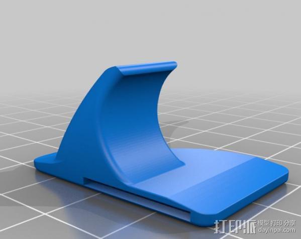 刀片架 刀片适配工具 3D模型  图5