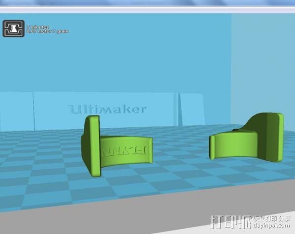 刀片架 刀片适配工具 3D模型  图4