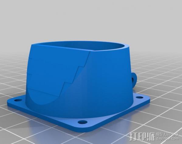 风扇固定架 3D模型  图1