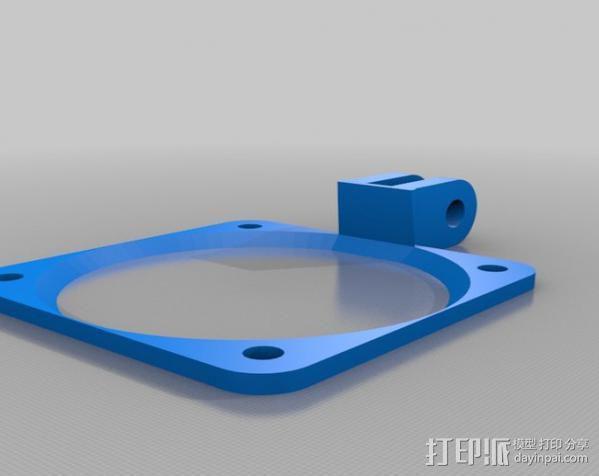 风扇固定架 3D模型  图2