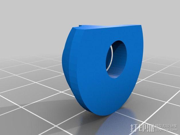 通用式挤出机 3D模型  图2
