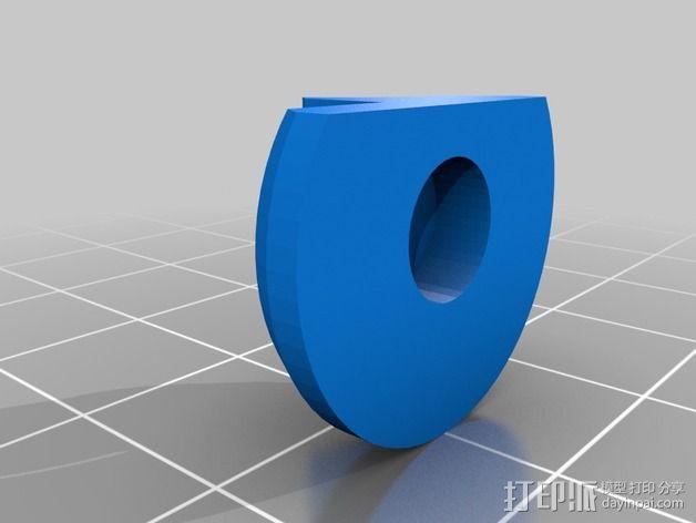 通用式挤出机 3D模型  图3
