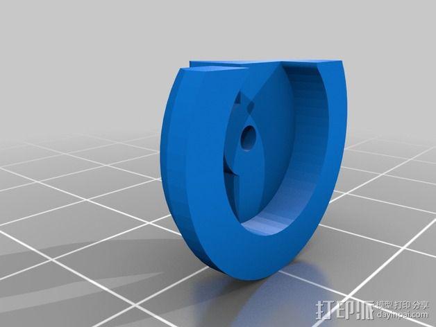 通用式挤出机 3D模型  图5
