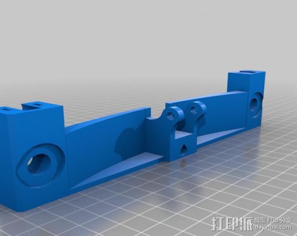 Prusa i3打印机Y轴限位开关 3D模型  图3