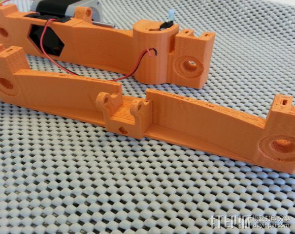 Prusa i3打印机Y轴限位开关 3D模型  图6