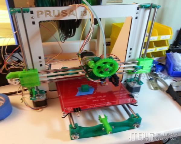 Prusa i3打印机Y轴限位开关 3D模型  图7