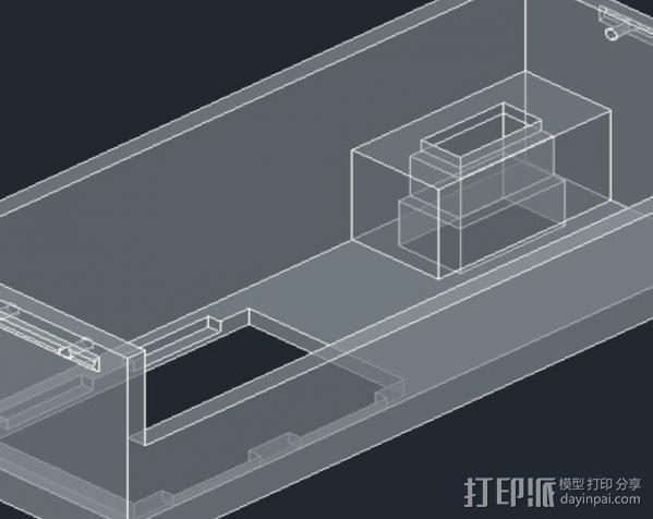 电源保护盒 3D模型  图4