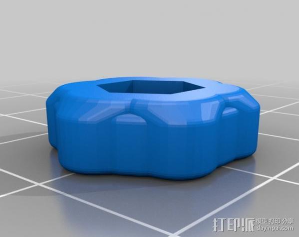 打印机Z轴开关调节器 3D模型  图4
