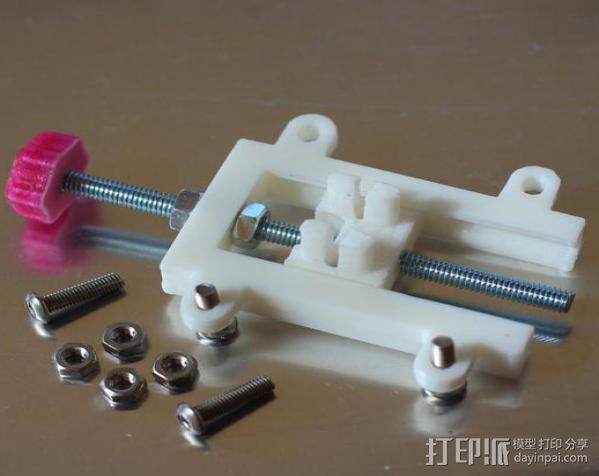 打印机Z轴开关调节器 3D模型  图7