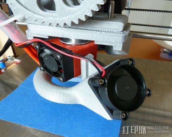 喷嘴风扇导管 3D模型  图4