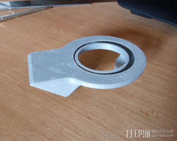 喷嘴风扇导管 3D模型  图3