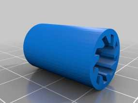 lm8uu轴承套管 3D模型