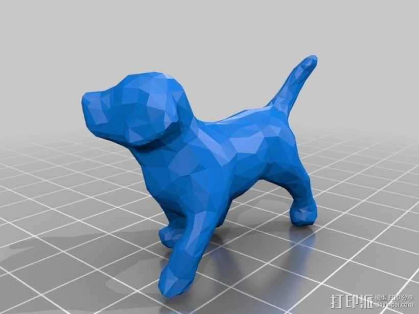 贵宾犬 3D模型  图1