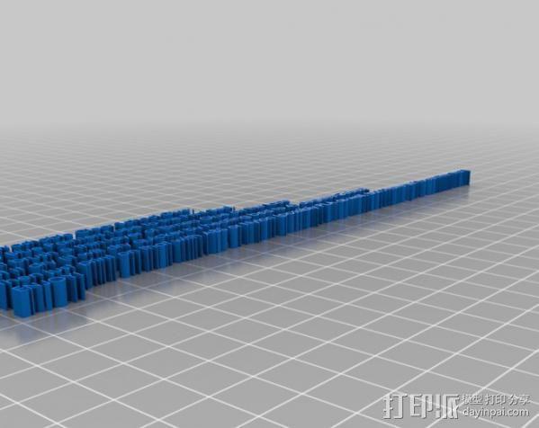 打印材料测试 3D模型  图2