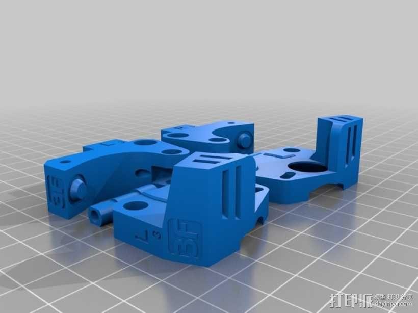 挤出机 3D模型  图1