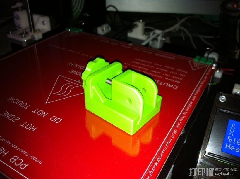 打印机Y轴皮带张紧器 3D模型  图1