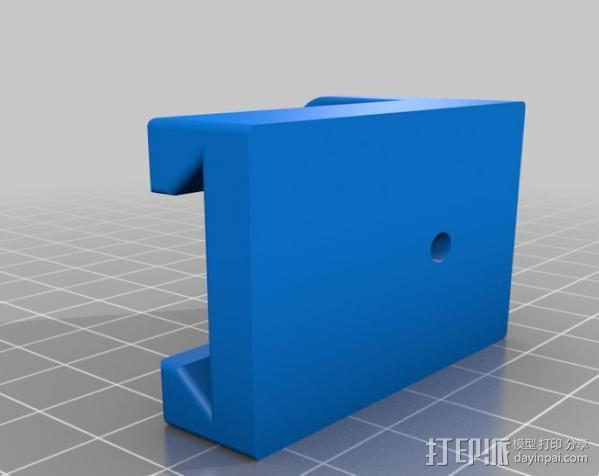打印机Y轴皮带张紧器 3D模型  图3