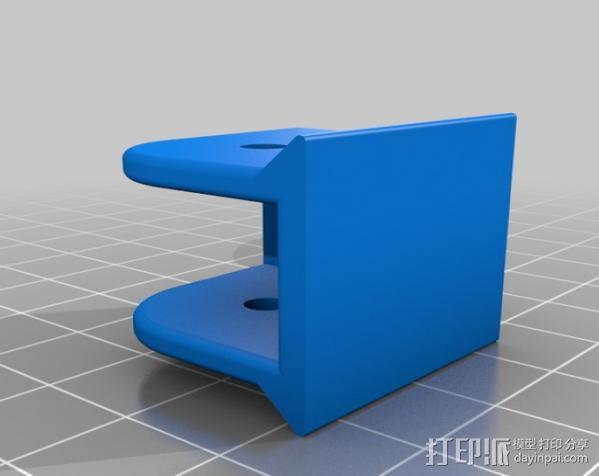 打印机Y轴皮带张紧器 3D模型  图4