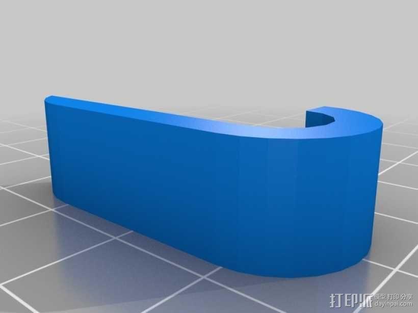 打印机Y轴马达稳定器 3D模型  图2